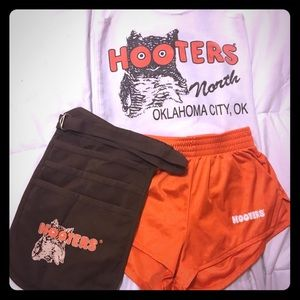 Authentic Hooters Outfit XS
